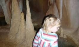Visit a glow worm cave