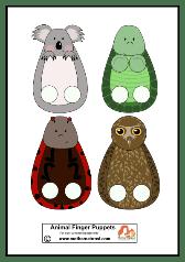 Animal Puppets pb