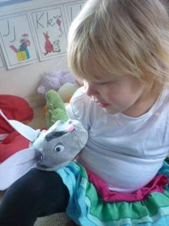 Bilby sock puppet
