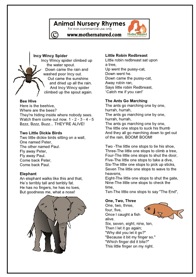 Animalnursery Rhymes