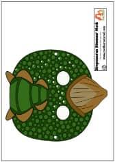 Stegosaurus Mask Printable PB