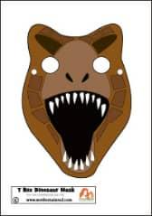 T rex Mask Dinosaur PB