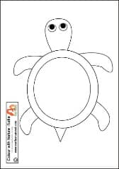 Turtle Printable pb