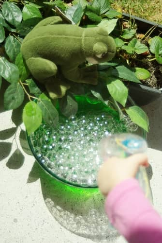 make frog eggs