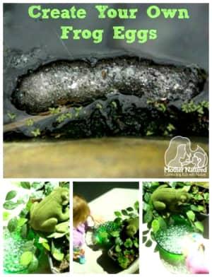 frog egg craft