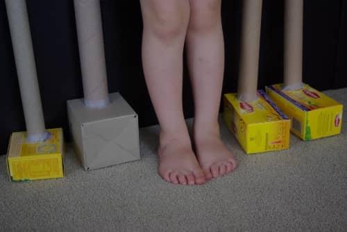 Giraffe feet