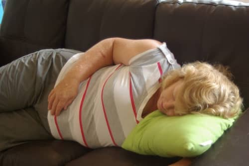 Nanny nap