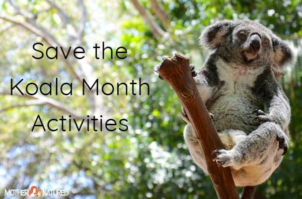 Save the Koala Month Activities for Kids