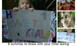 8 activities for save the koala month