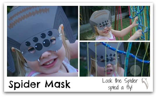 Free Spider Mask