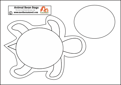 Turtle Template How To Make Animal Bean Bags
