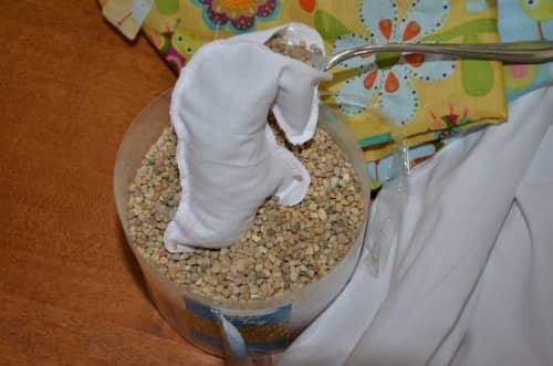 How to make bean bag animals