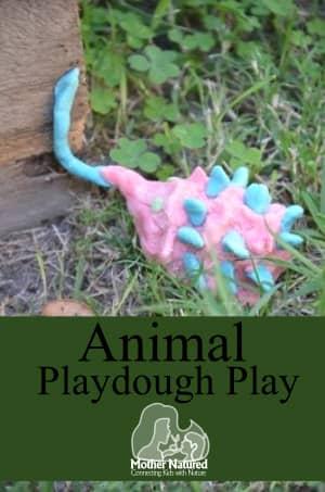 animal-play-dough-play