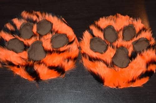 Tiger feet DIY