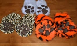 Easy made animal feet