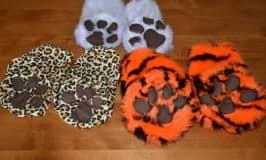 Easy made animal feet