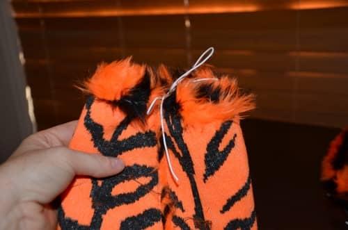 Animal Feet sewn