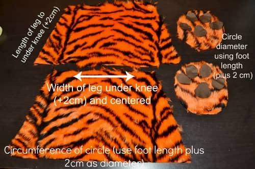 make animal slippers
