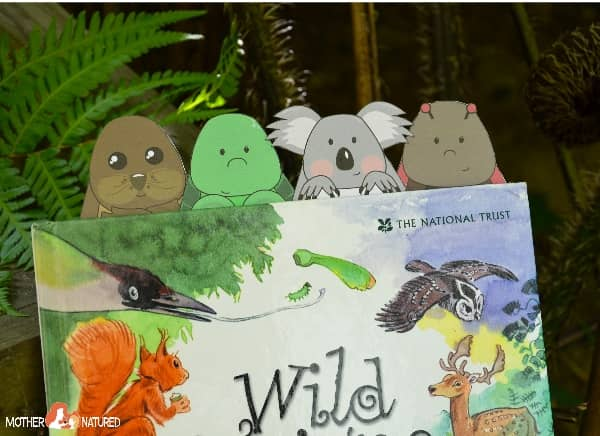 Animal Bookmarks for Kids