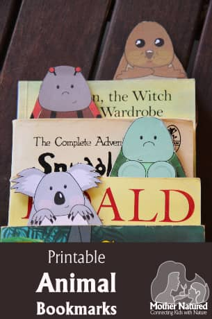 Free Animal Bookmarks