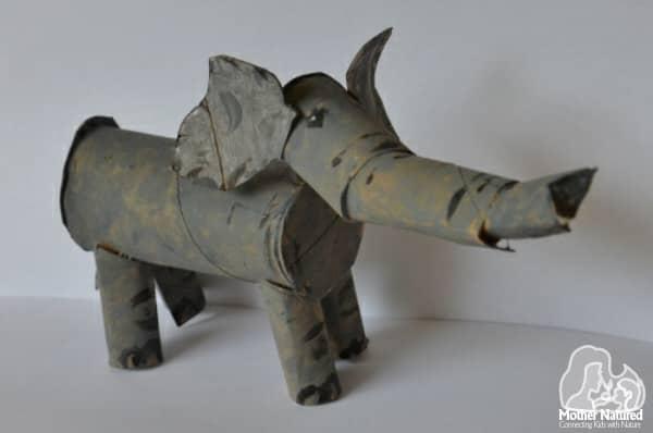 Toilet roll elephant