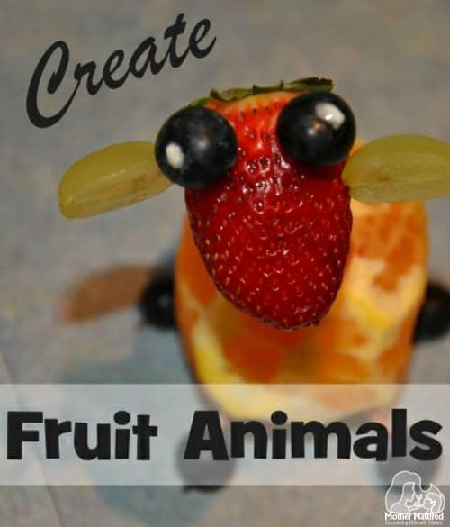 Fruit Animals for Kids