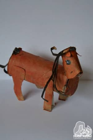 toilet Roll horse
