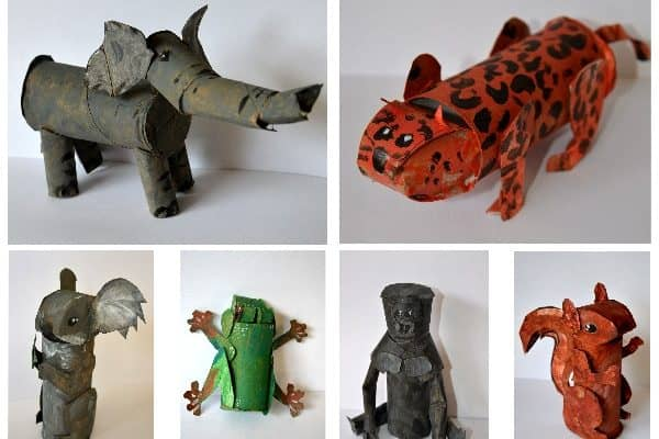 Amazing toilet roll animals you will want to make!