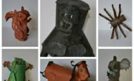 Amazing toilet roll animal crafts