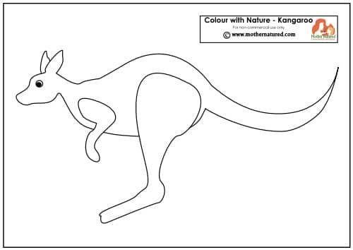 Kangaroo Printable