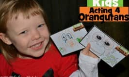 Act for orangtuans: action postcards for kids