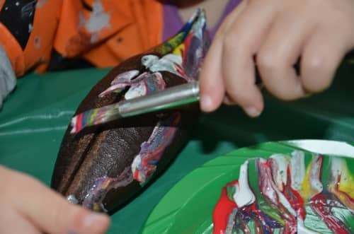 Nature for Kids: Painting Seed Pods