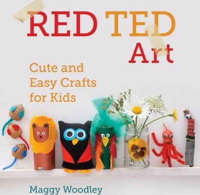 Chick craft: Red Ted Art by Maggy Woodly