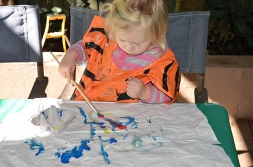 Toddler art idea