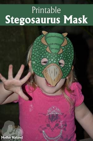 Stegosaurus Dinosaur Mask