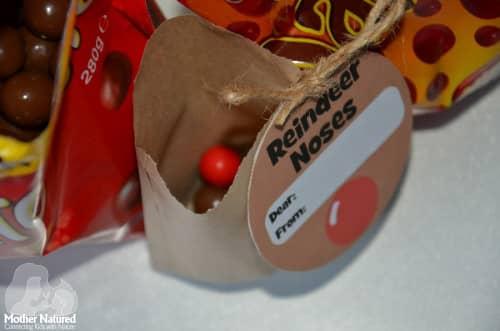 Maltesers and Jaffa gift tag