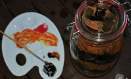 Helping save tigers with a decorated jar