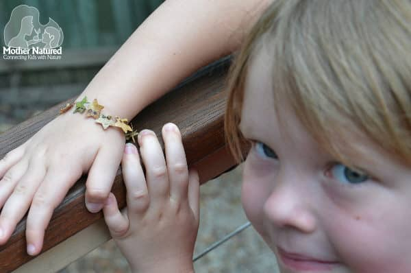 The prettiest leaf bracelet you will ever see!