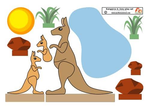 Kangaroo and Joes Printable