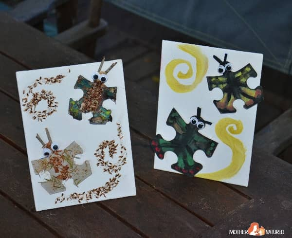 animal puzzle craft