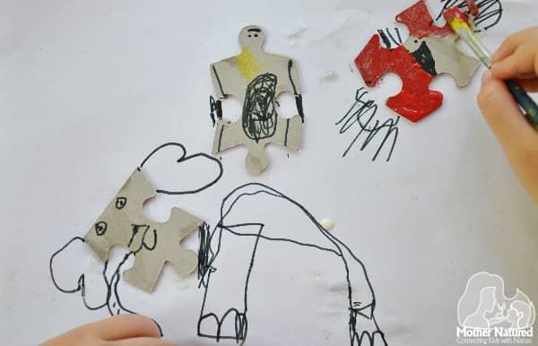 Puzzle Piece Animals