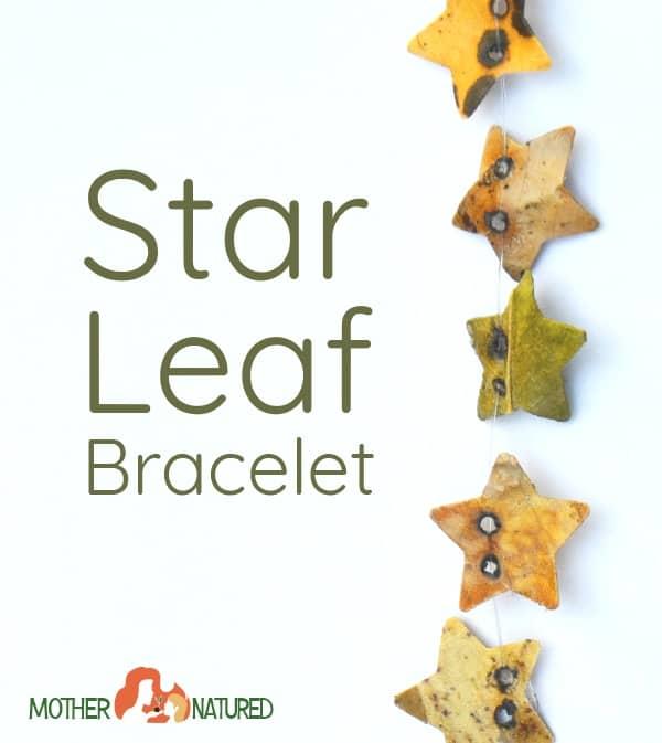 Star Leaf Bracelet
