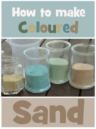 Make your own coloured Sand
