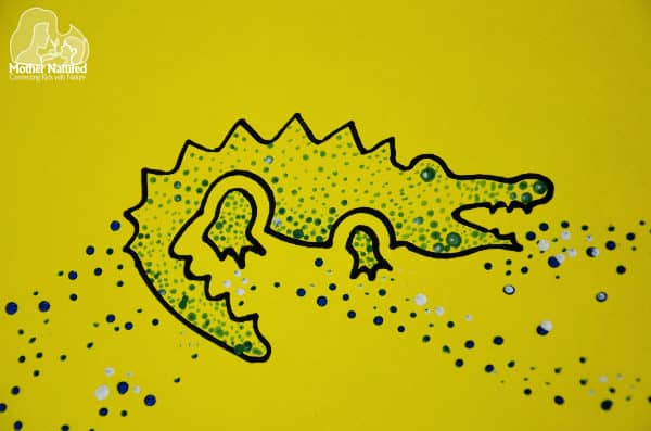 Animal dot painting: a craft kids will go wild for!