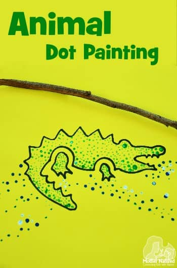 Animal Dot Painting