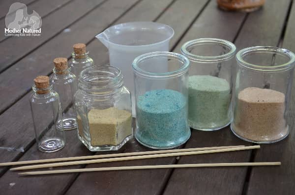 Coloured Sand Activity