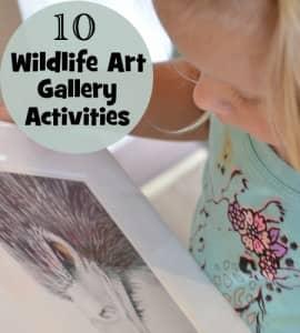 10 Wildlife Art Gallery Activities