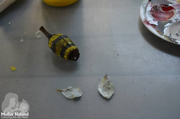 Bee and nature craft