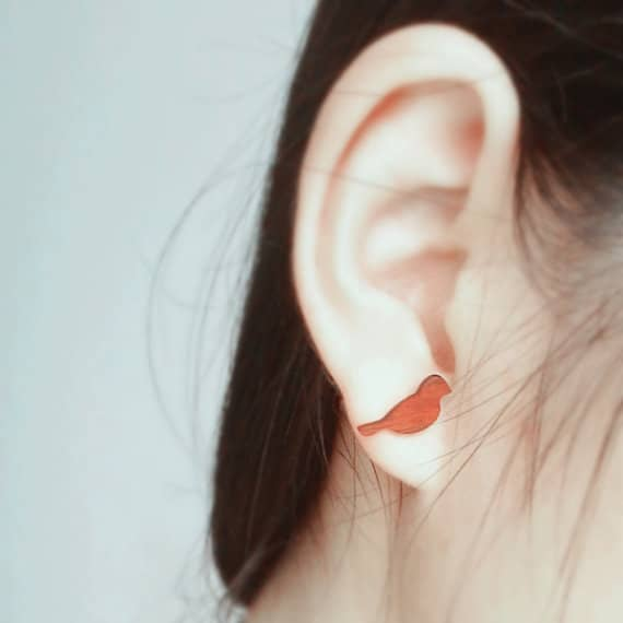 Bird Earrings as gift for mum