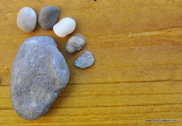 Rock feet craft